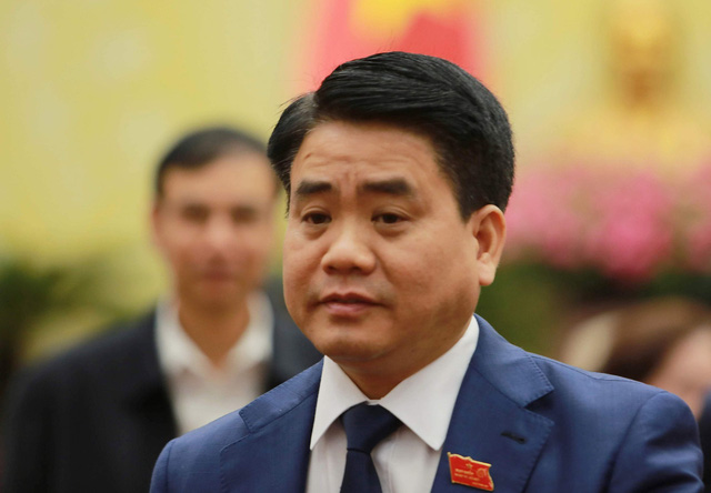Nguyen Duc Chung, chairman of Hanoi People's Committee. Photo: Nam Tran / Tuoi Tre