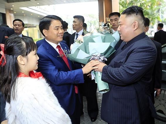 N.Korea's leaderKim Jong Unarrives to warm welcome in Hanoi