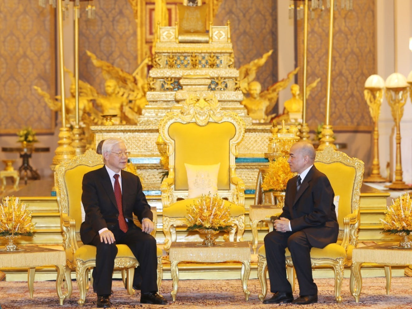 Vietnam a great, reliable friend of Cambodia: King Sihamoni