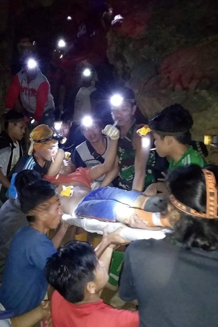 Indonesia says at least three killed, 60 feared buried in illegal mine collapse