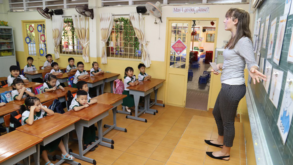 Ho Chi Minh City parents rush to take first graders out of UK-Vietnam integrated program