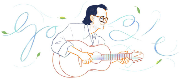 Google Doodle honors late renowned Vietnamese songwriter Trinh Cong Son