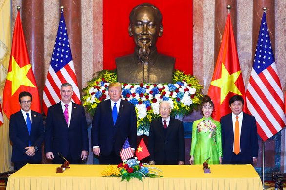 President Trump invites top Vietnamese leader to visit US this year