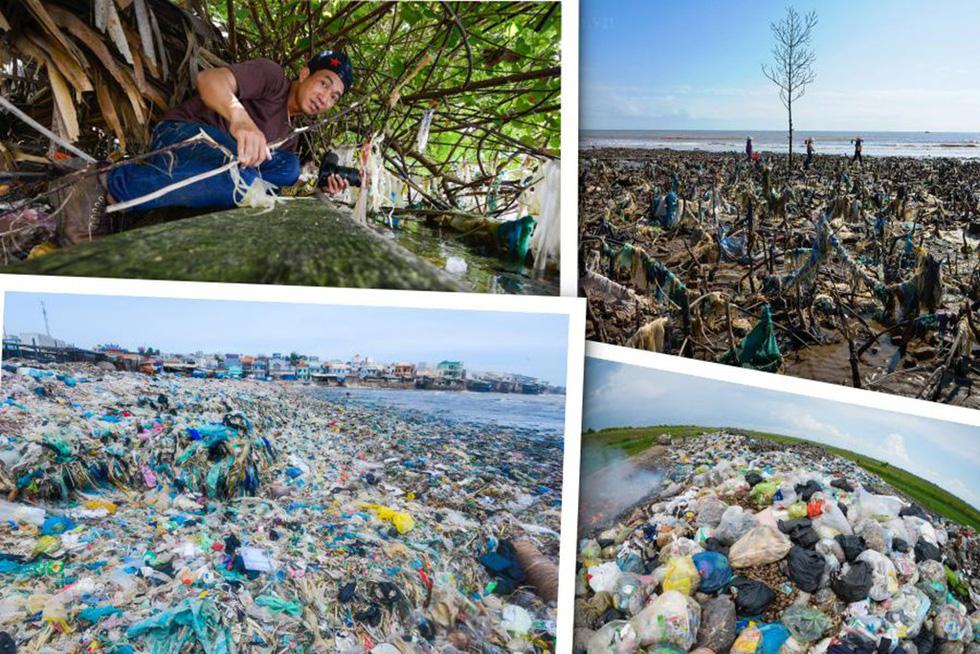Photographer travels throughout Vietnam to take photos of garbage