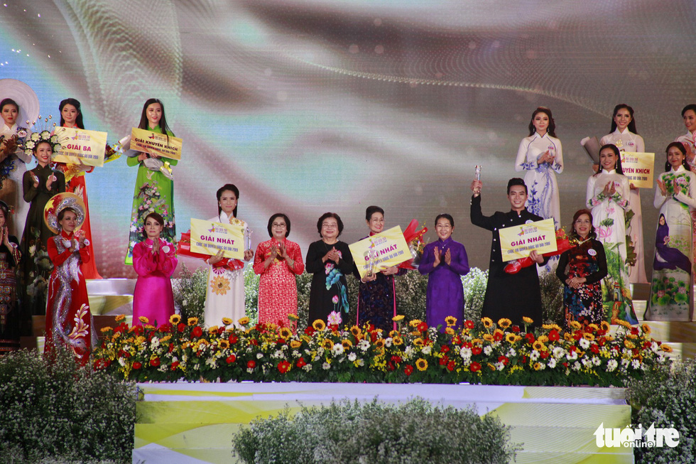'Charming ao dai' contest wraps up in Ho Chi Minh City