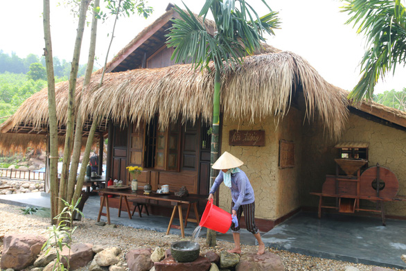 Resort illegally built inside protection forest in central Vietnam