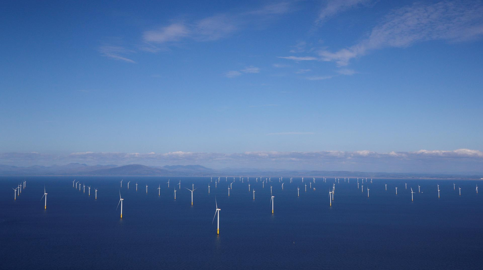 Britain targets a third of electricity from offshore wind by 2030
