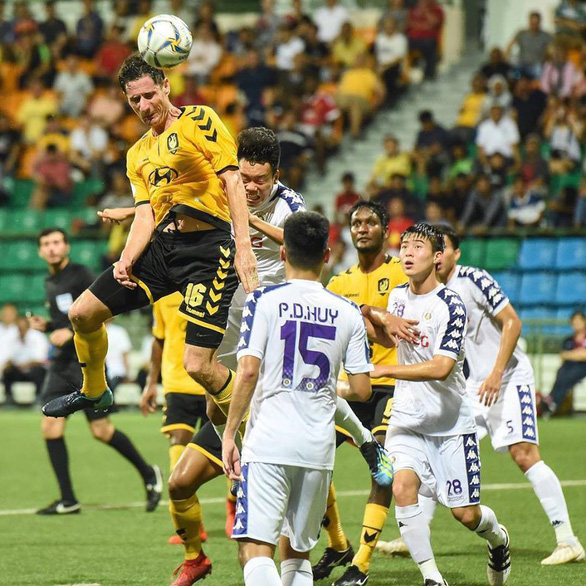 Hanoi FC held to draw in AFC Cup group-stage game in Singapore