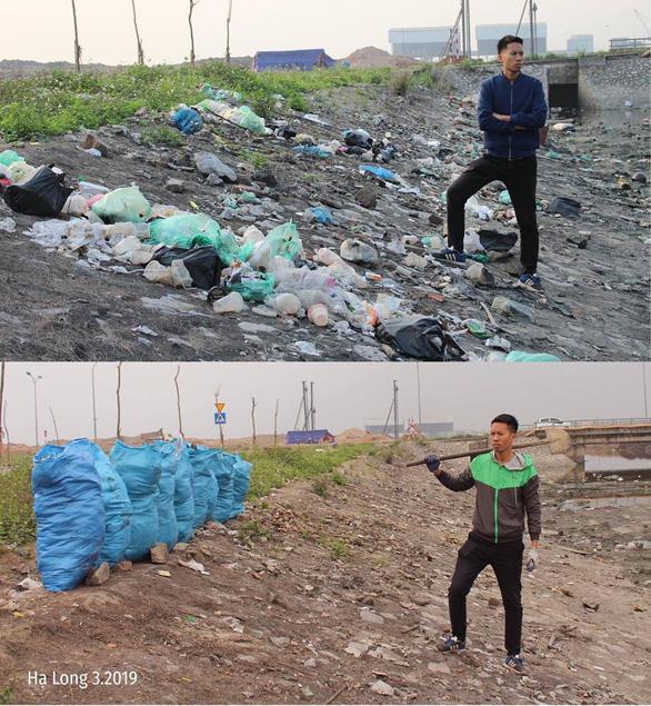 Vietnamese youth take on #Trashtag Challenge