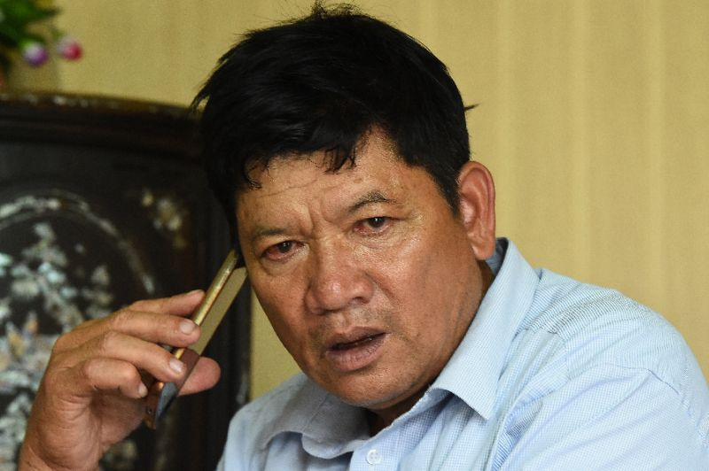 Doan Van Thanh, the father of Vietnamese woman Doan Thi Huong accused of killing Kim Jong Nam, insists his daughter is innocent and hopes she will be home soon. Photo: AFP