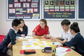 How history is taught at BIS Hanoi