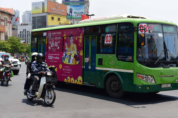 Ho Chi Minh City's bus advertising scheme on verge of flopping