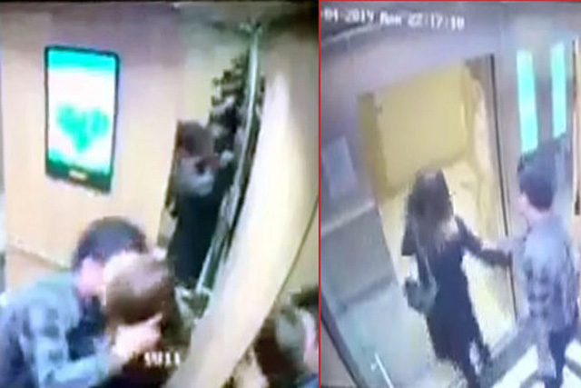 Man slapped with $8.6 fine for forcefully kissing girl in apartment elevator in Hanoi