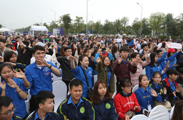Participants at the event. Photo: Nam Long / Tuoi Tre