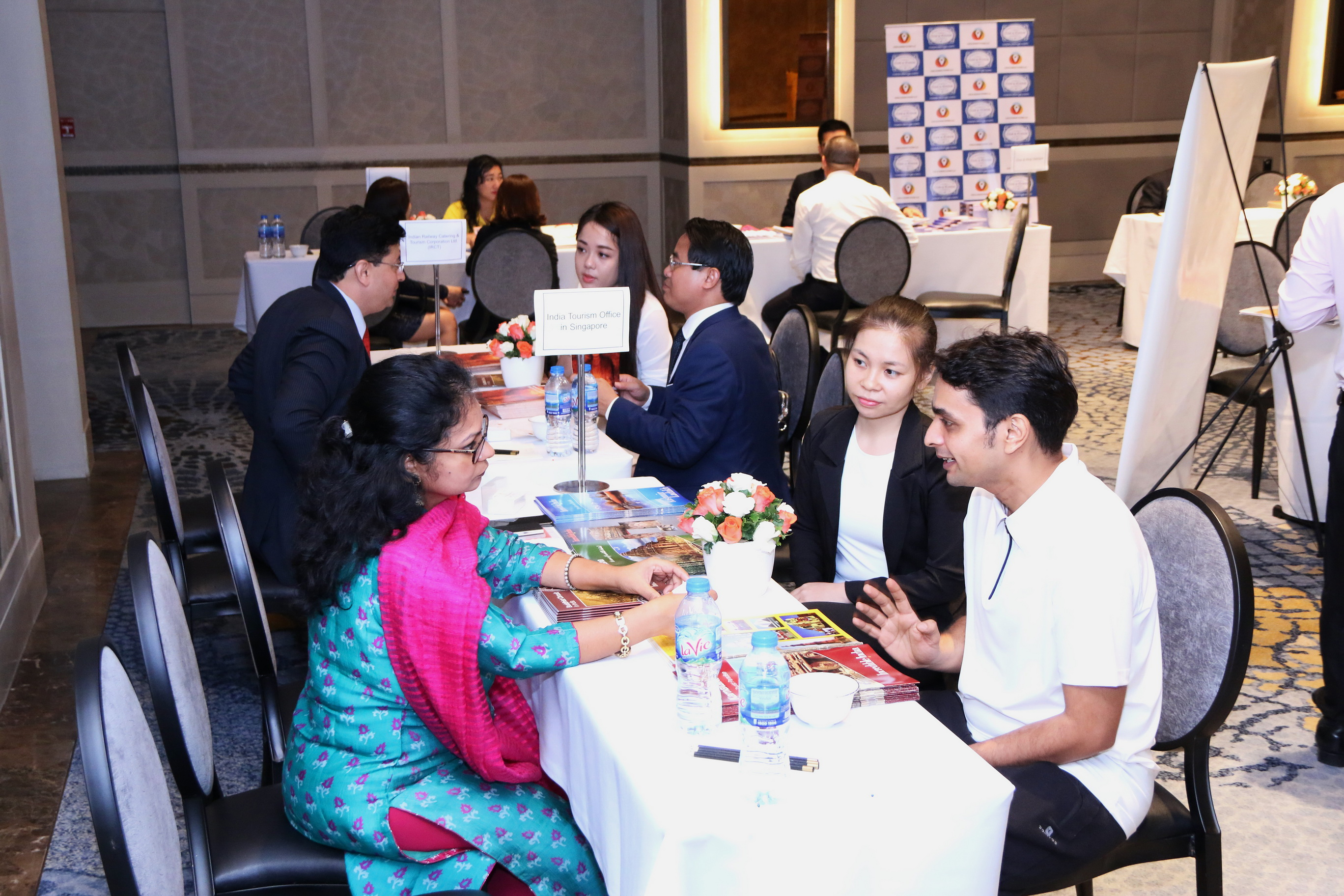 Vietnamese and Indian businesses meet at the 'Visit Incredible India in 2019' event in Ho Chi Minh City on March 20, 2019. Photo: Consulate General of India