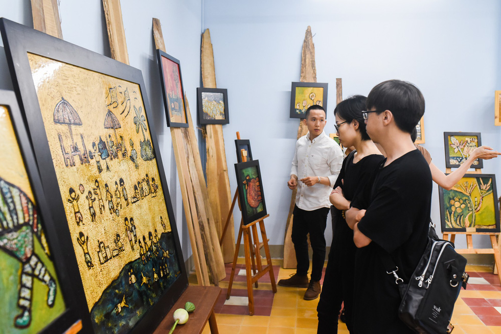 Mentally disabled children showcase artistic abilities in Ho Chi Minh City