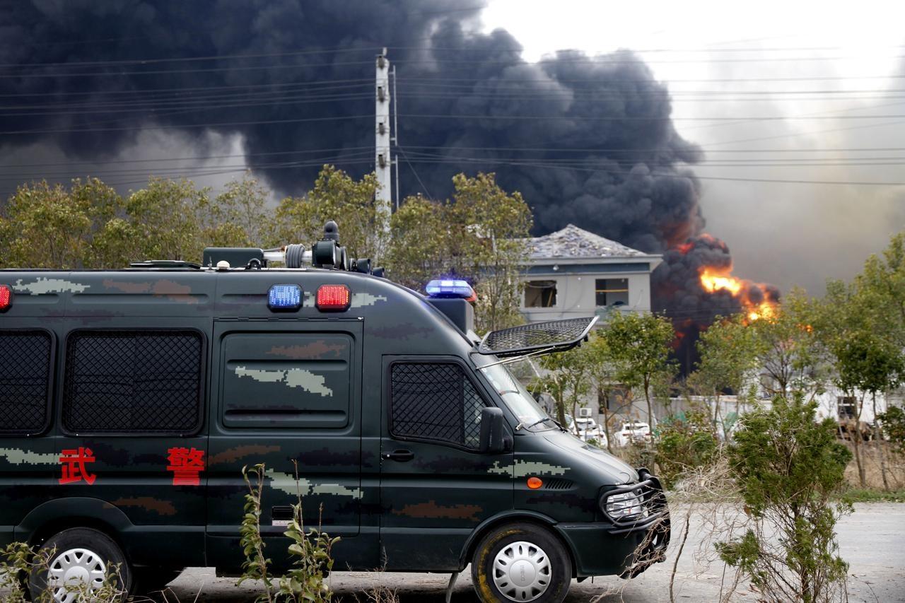 Blast at Chinese chemical plant blast kills 44, injures 640