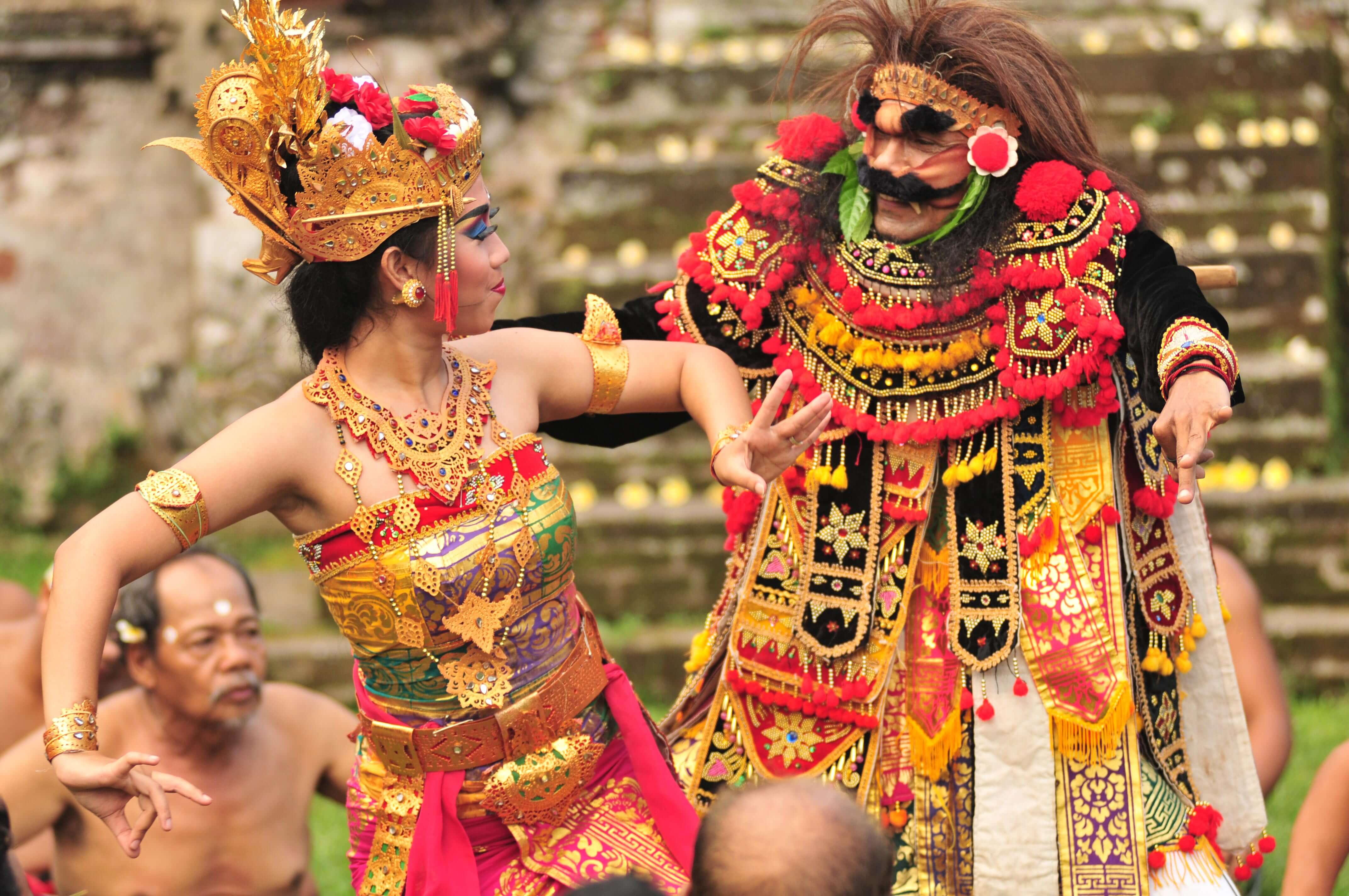 Dancers perform a tradition dance in Bali, Indonesia. Photo: Indonesian Ministry of Tourism