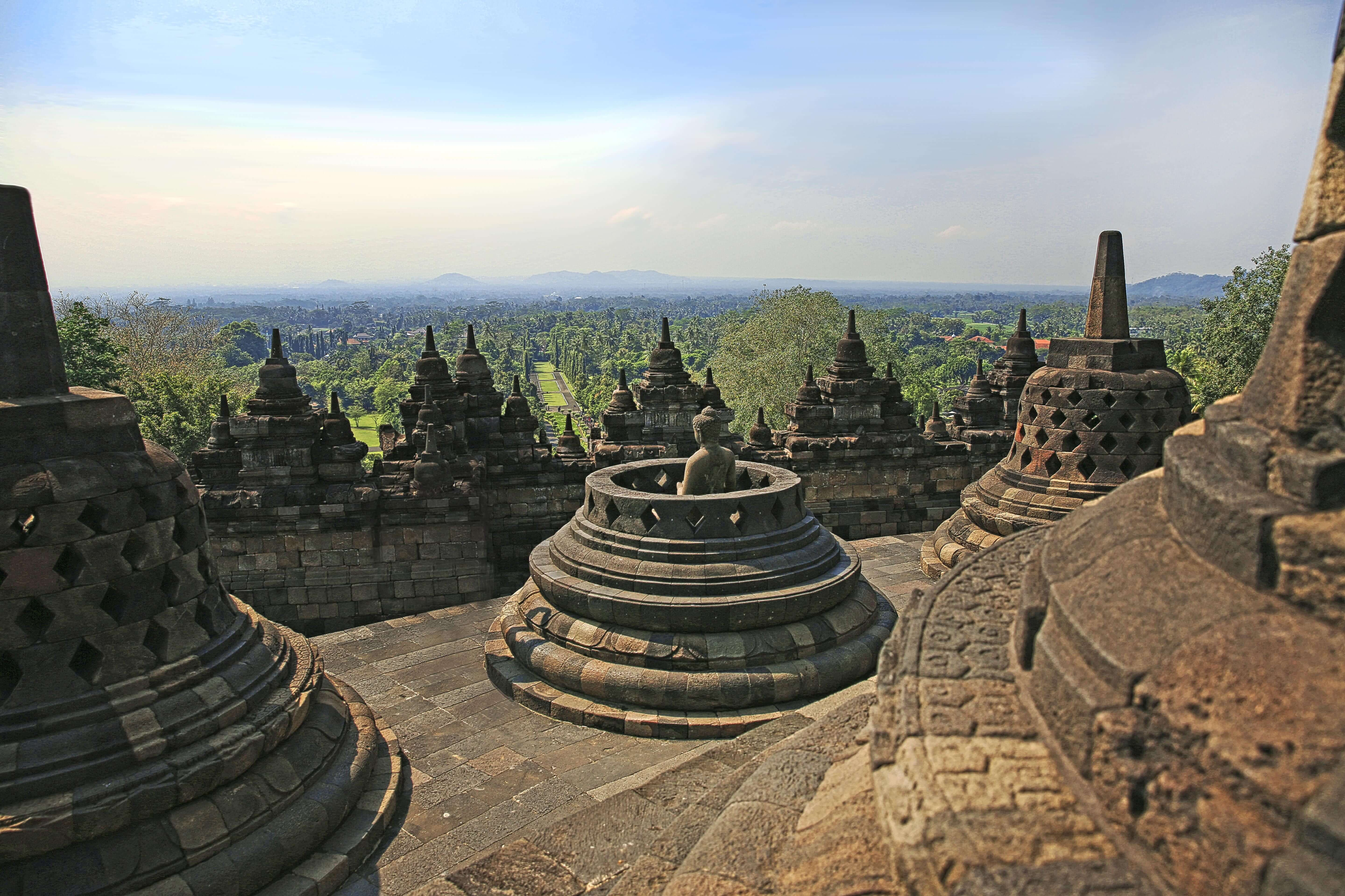 The Borobudur Temple, a famous Buddhist landmark in Central Java, Indonesia. Photo: Indonesian Ministry of Tourism