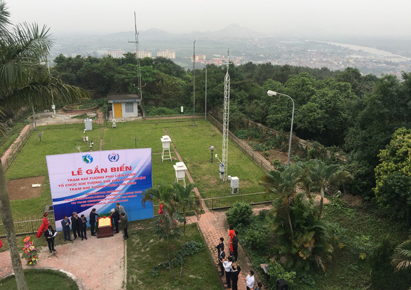 Vietnam's meteorological facility recognized as world's centennial observatory station