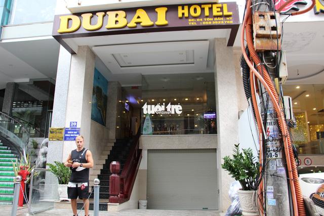 Dubai Hotel on Ton Dan Street in Nha Trang City. Photo: Thai Thinh / Tuoi Tre