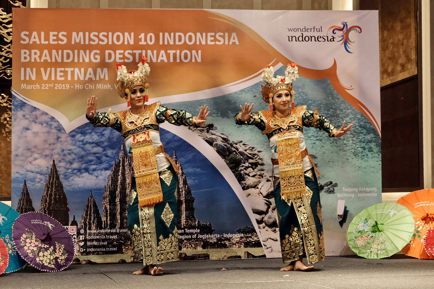 Indonesia targets 100,000 tourist arrivals from Vietnam in 2019