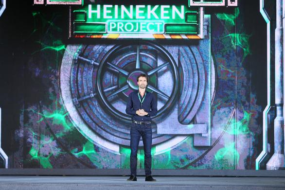 Alexander Koch, Heineken Vietnam's Commercial Director at the launch of Heineken Silver