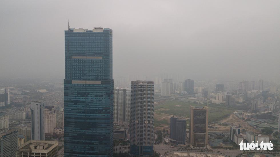 Skyscrapers in Hanoi. Photo: Nam Tran / Tuoi Tre