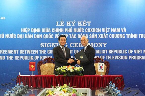 Vietnam, S.Korea sign agreement on joint TV program production
