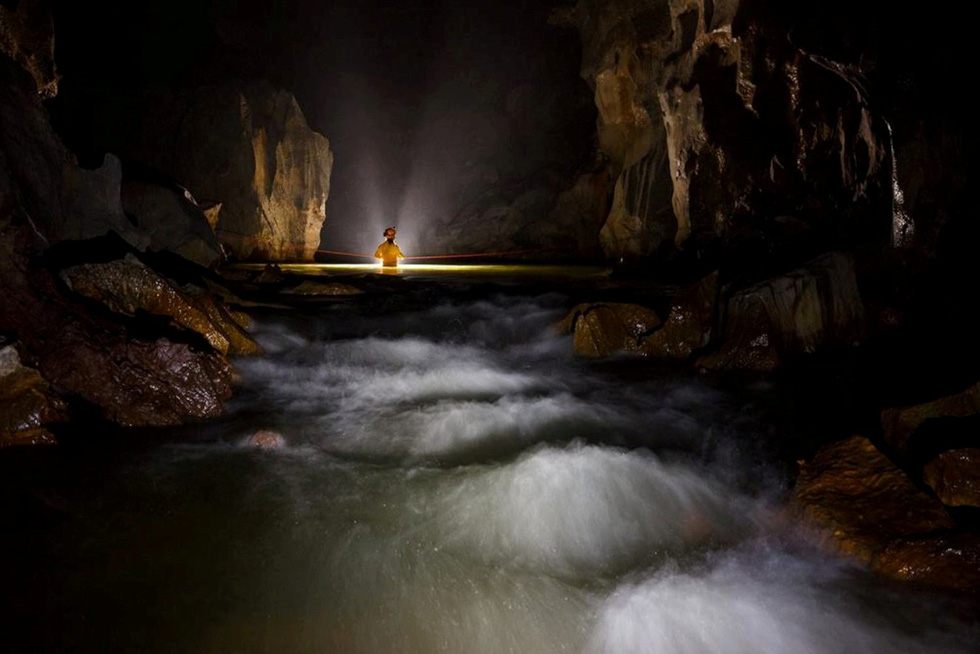 Inside the Son Doong Cave. Photo: Oxalis