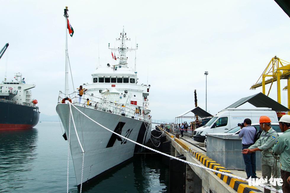 Indian Coast Guard ship makes port call to Vietnam