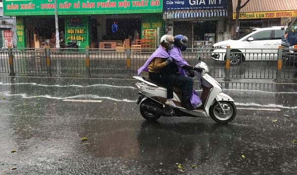 It remains scorching in southern Vietnam despite unseasonal rains