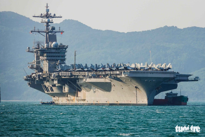 U.S. hopes for second aircraft carrier visit to Vietnam this year: official