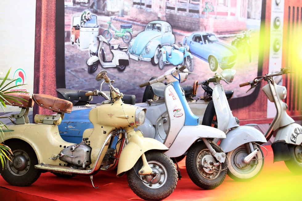 Vintage cars, motorbikes on display in Ho Chi Minh City