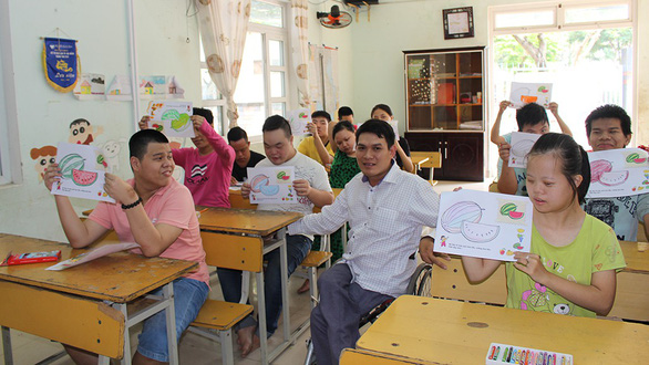 In their shoes: Crippled Vietnamese teacher devotes life to disabled children