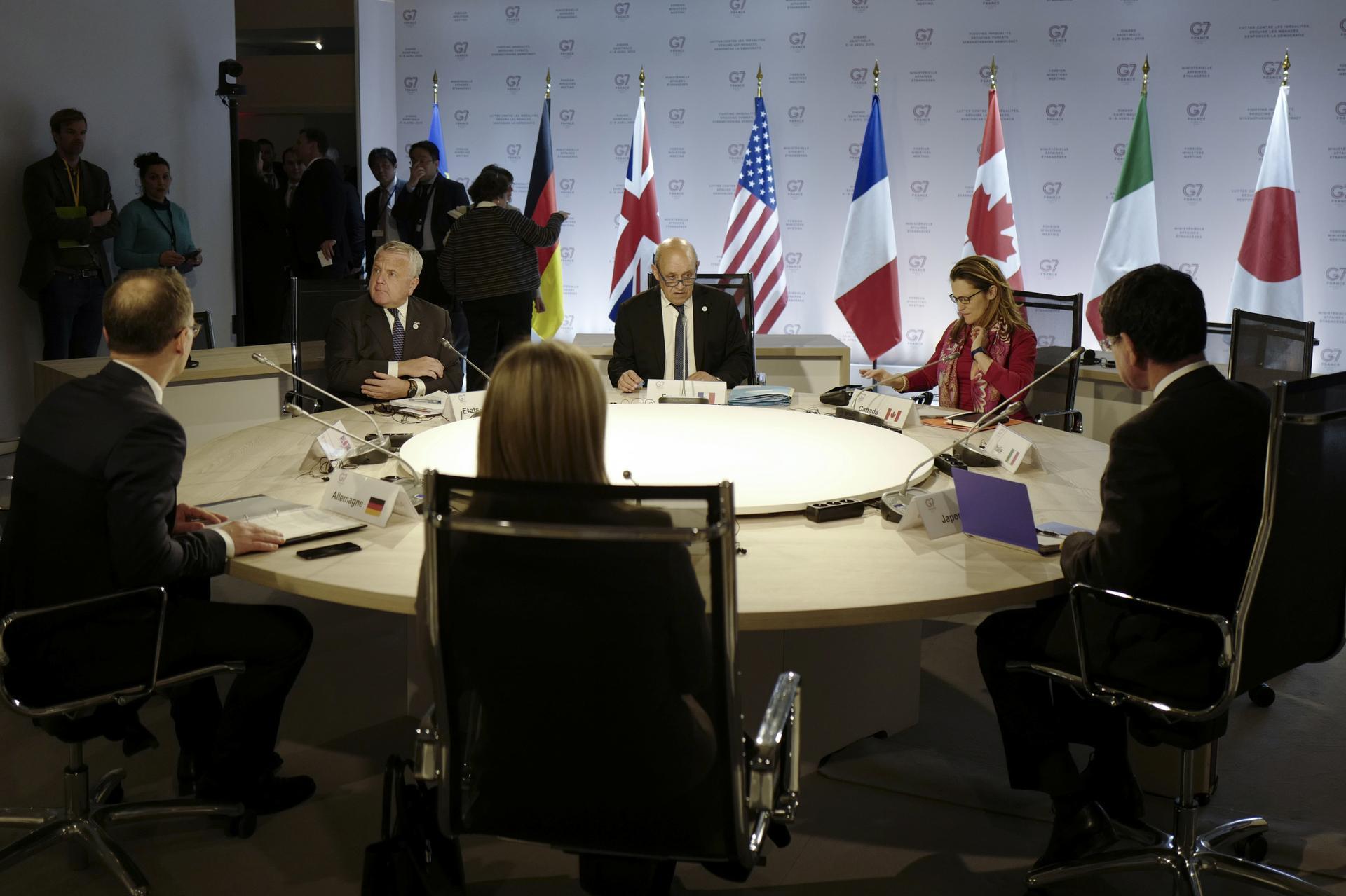 Low expectations, no quarrels and Libya accord rescue G7 summit