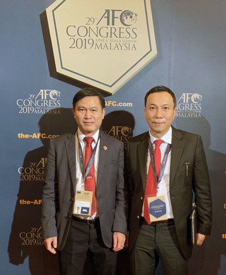Vietnam Football Federation vice-president re-elected to AFC Executive Committee