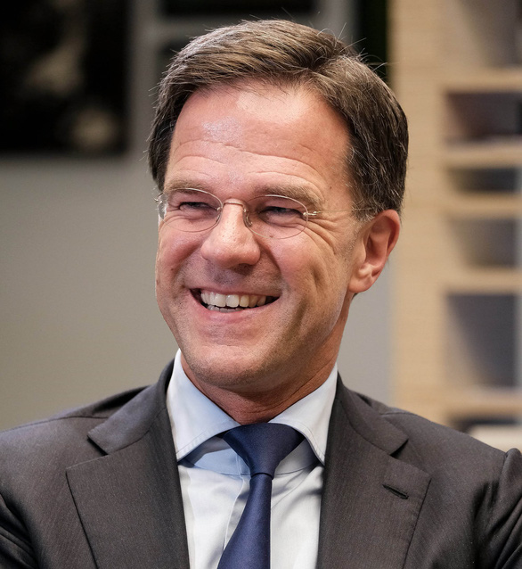 Dutch Prime Minister Mark Rutte is pictured during an interview in Hanoi. Photo: Nam Tran / Tuoi Tre