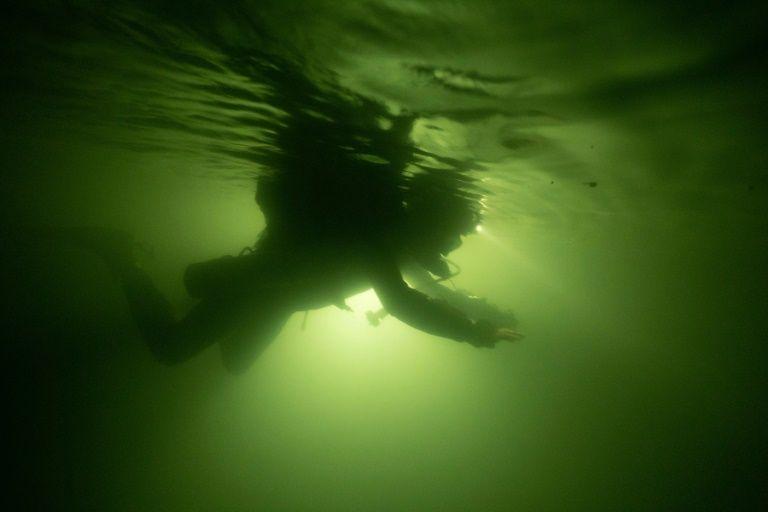 Thai cave boy divers explore new tunnel in Vietnam