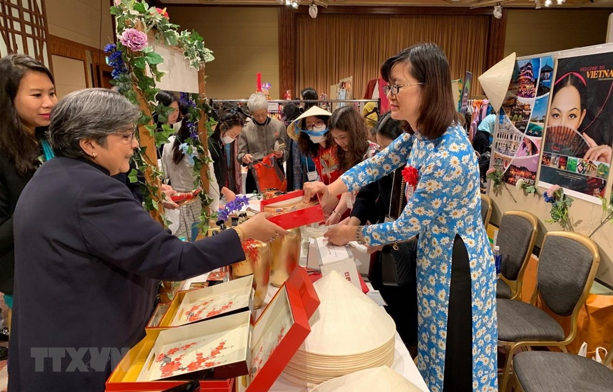 Vietnamese goods sold at charity fundraiser in Tokyo