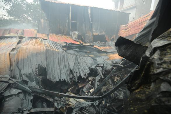 Eight feared dead as fire engulfs workshop complex in Hanoi