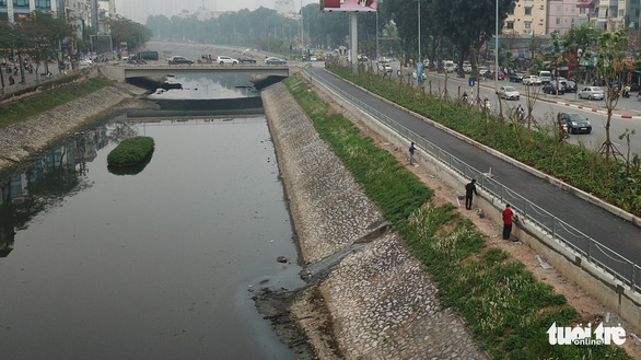 Japanese expert proposes measure to deodorize Hanoi river in three days