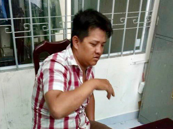 Le Chinh Truc is seen in this photo provided by the police.