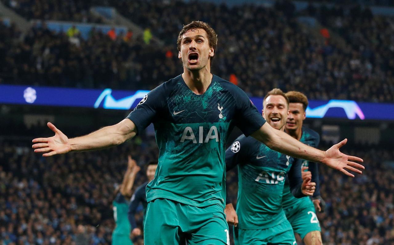 Spurs stun City to go through after seven-goal thriller, VAR drama