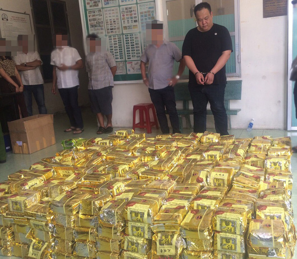 Two Taiwanese arrested in Ho Chi Minh City one-ton drug bust