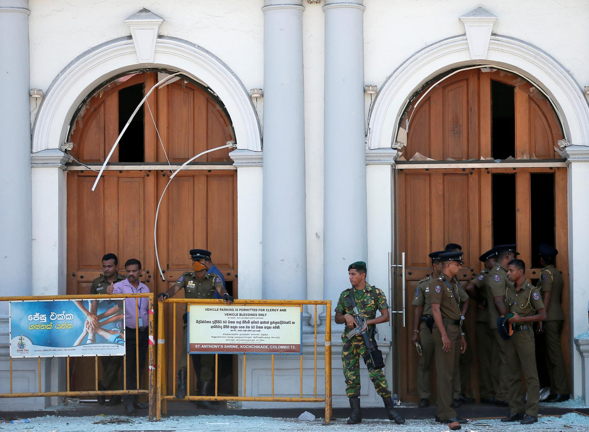 Seven arrested as Sri Lanka bombings death toll passes 200
