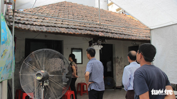 The house of Le Thi Thu H. in Dong Da District, Hanoi. Photo: Ha Thanh / Tuoi Tre
