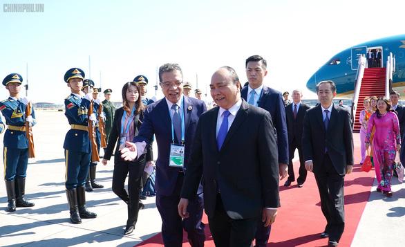 Vietnam PM arrives in Beijing for Belt and Road Forum