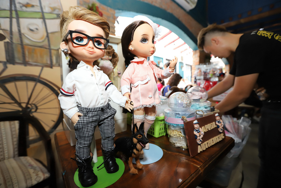 Ho Chi Minh City fair offers playground for doll lovers