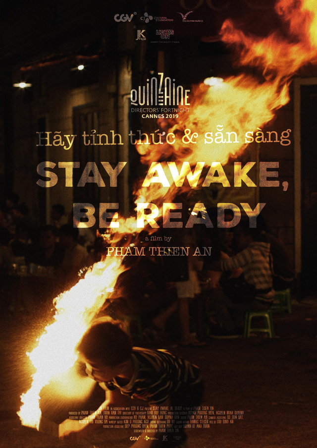 A poster of Stay Awake, Be Ready